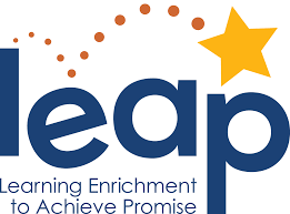 LEAP graphic