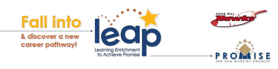 LEAP logo and registration